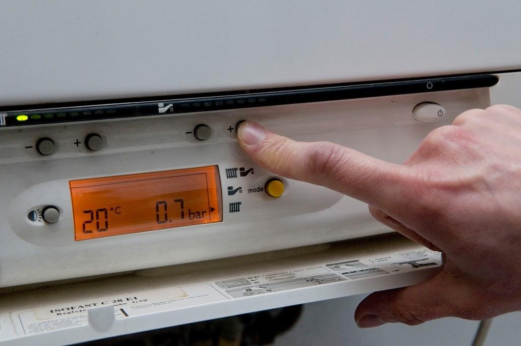 configurar caldera de gas