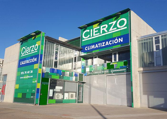 Cierzo clima venta y reparaci n aire acondicionado y calderas for Reparacion calderas zaragoza