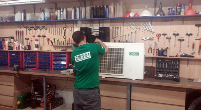 servicio técnico de aire acondicionado en Zaragoza